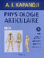 Physiologie articulaire - Tome 3